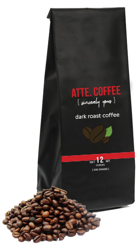 12 ounce bags of ATTE. COFFE